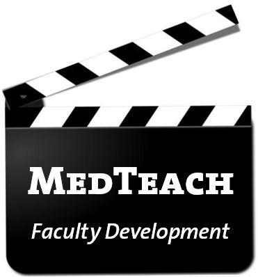 MedTeach Faculty Development Clap Board logo